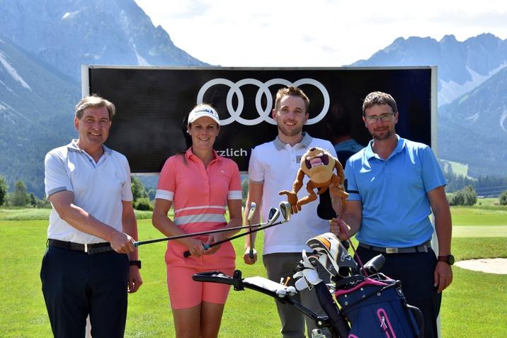 Audi quattro Cup 2021 mit Franz Dengg, Niki Hosp, Simon Schweiger und Daniel Ortner-Bauer